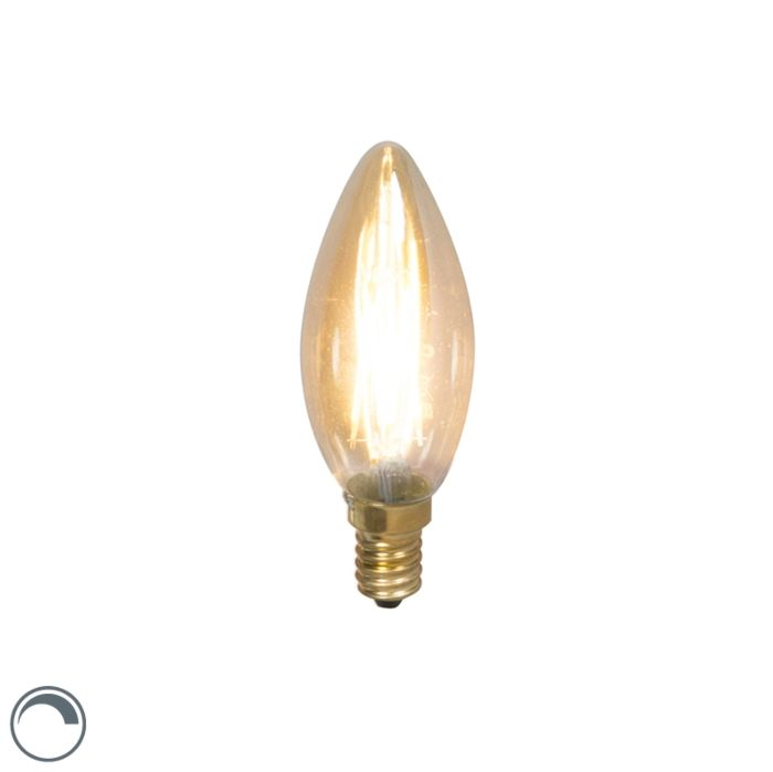 Lâmpada-de-vela-de-filamento-LED-E14-240V-3,5W-200lm-regulável