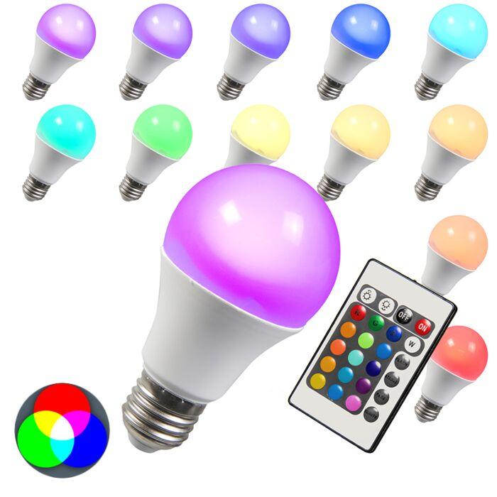 Lâmpada-LED-RGB-E27-3W