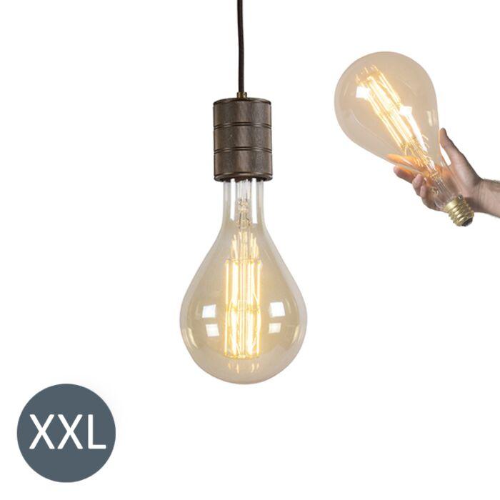 Lâmpada-suspensa-Splash-com-lâmpada-LED-regulável
