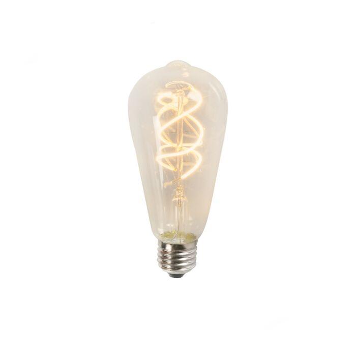Filamento-de-LED-torcido-ST64-5W-2200K-transparente