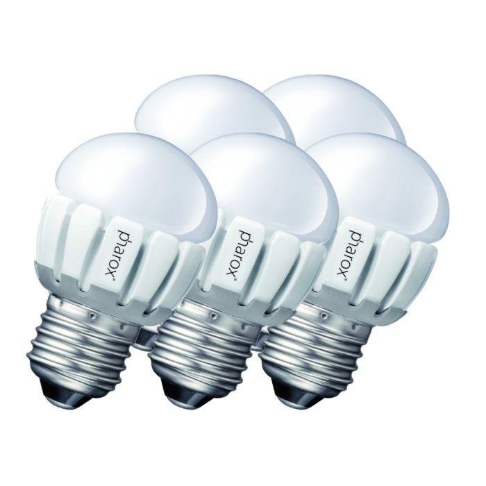 Conjunto-de-5-Pharox-LED-200-P45-E27-5W-230V