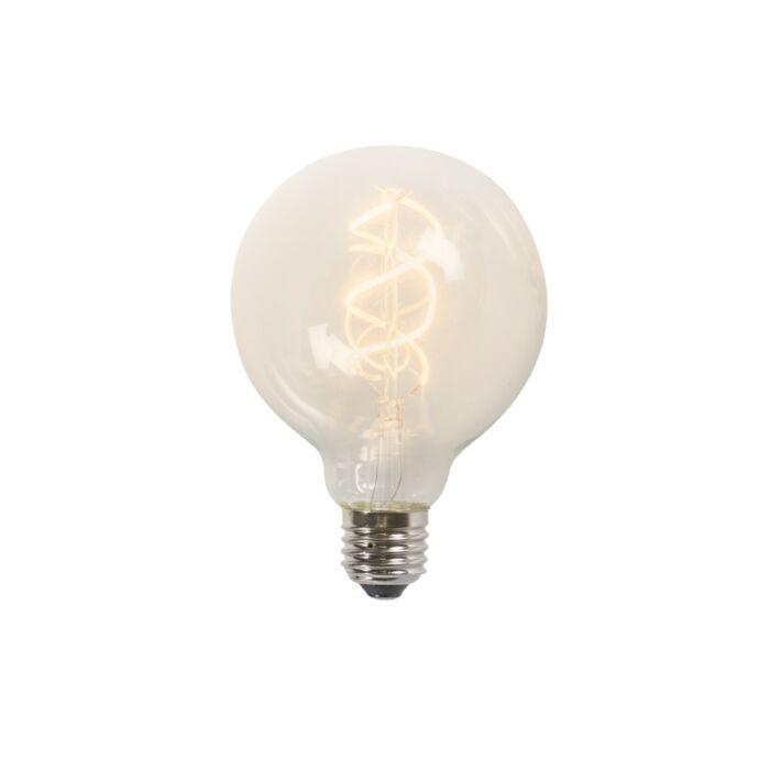 Lâmpada-LED-de-filamento-torcido-G95-5W-2200K-transparente