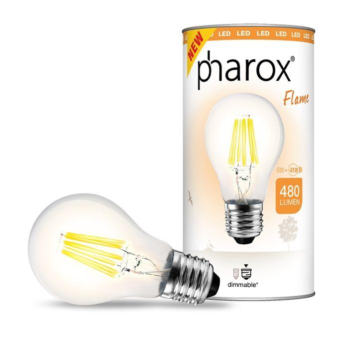 Lâmpada-Pharox-LED-Flame-E27-6W-480-lumens