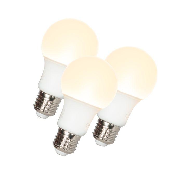 Conjunto-de-3-lâmpadas-LED-A60-E27-9W-3000K