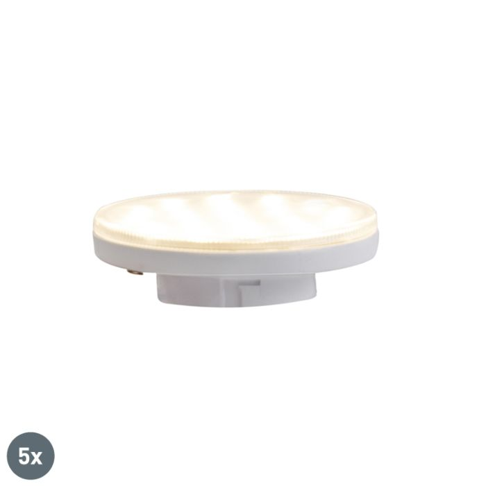 Conjunto-de-5-lâmpadas-LED-reguláveis-de-3-etapas-GX53-3W-350-lm-3000K