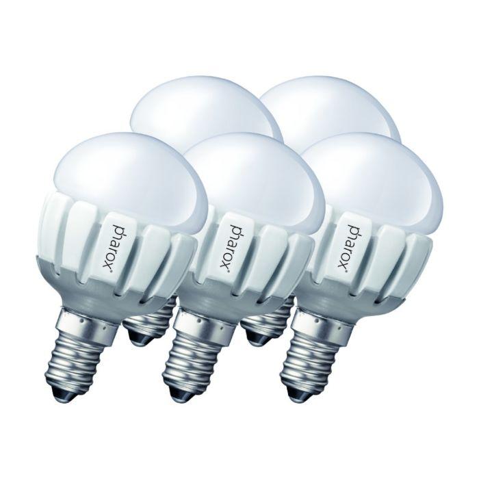 Conjunto-de-5-Pharox-LED-200-P45-E14-5W-230V