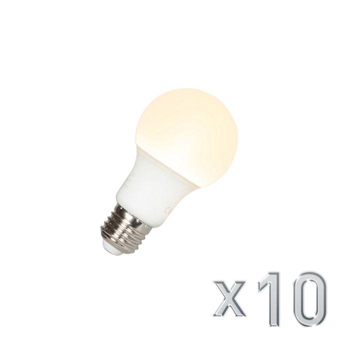 Conjunto-de-10-lâmpadas-LED-A60-E27-9W-3000K