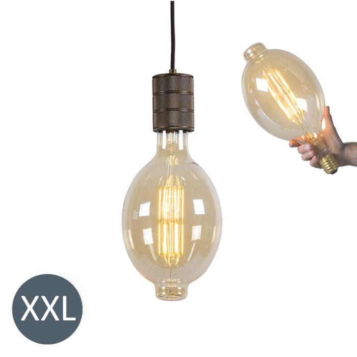Candeeiro-suspenso-Coliseu-com-lâmpada-LED-regulável