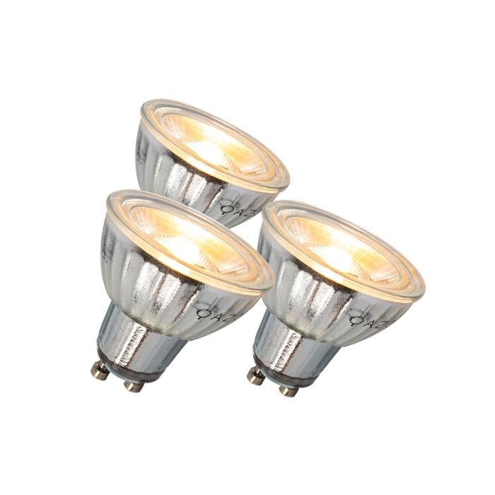 Lâmpada-LED-GU10-7W-500LM-3000K-regulável-conjunto-de-3