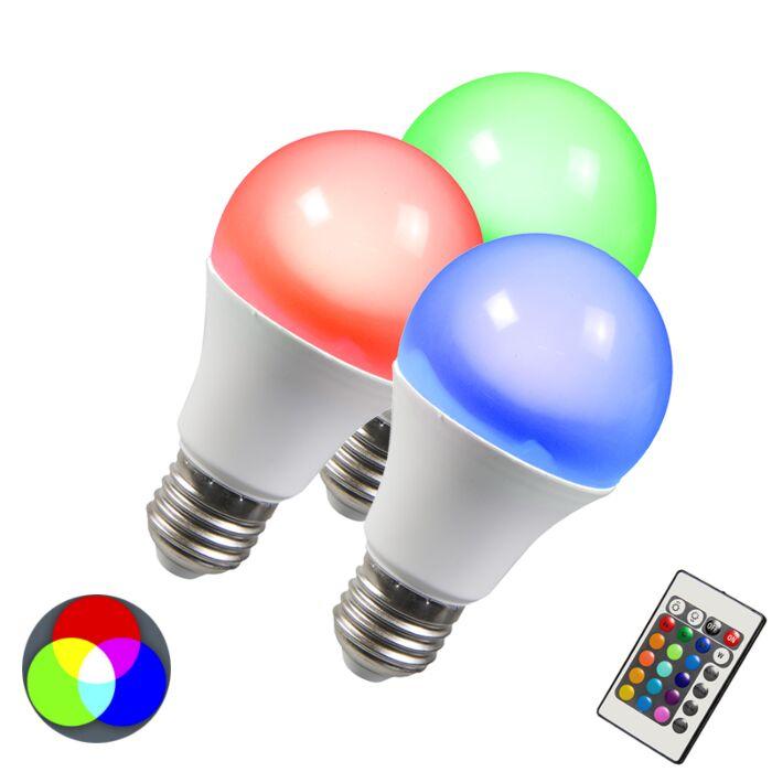 Lâmpada-LED-RGB-E27-10W-branco-quente-extra-conjunto-de-3