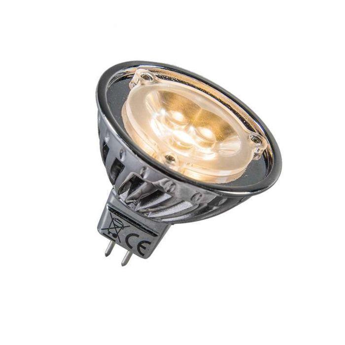 LED-de-alimentação-12V-MR16-3-x-1W-=-aprox.-30W-branco-quente