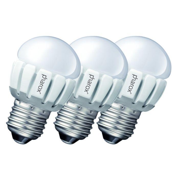 Conjunto-de-3-Pharox-LED-200-P45-E27-5W-230V