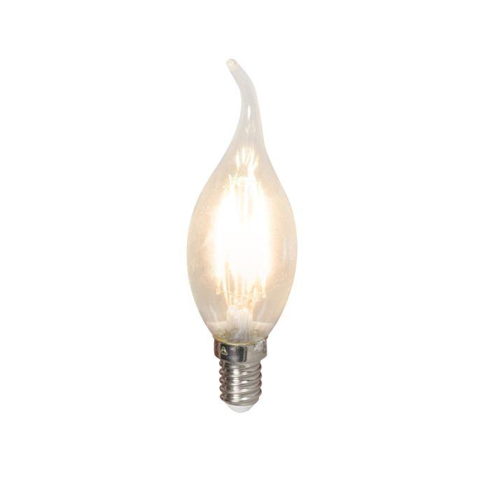 Lâmpada-de-vela-com-ponta-de-filamento-LED-E14-240V-3,5W-350lm-BXS35-regulável