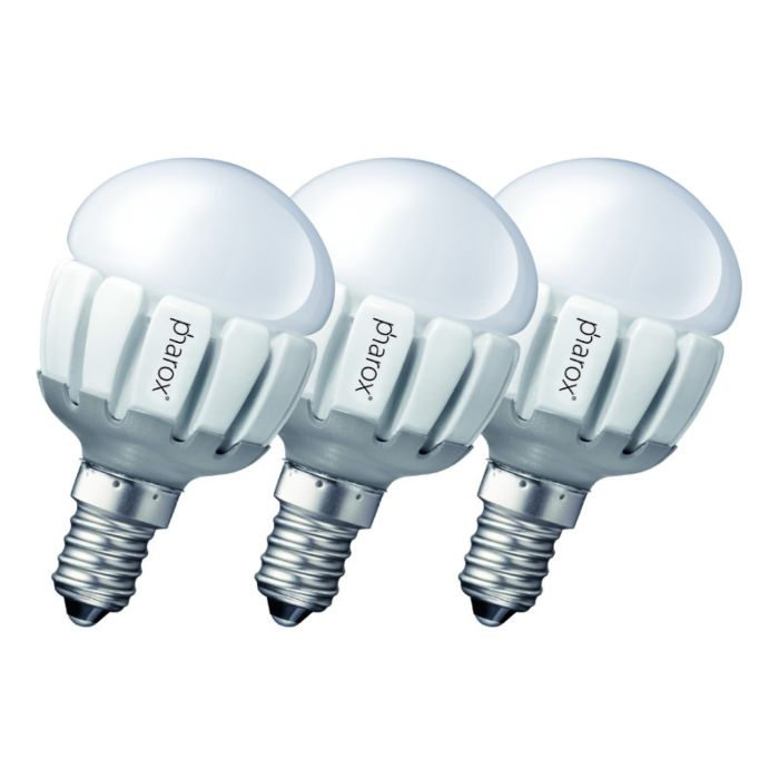 Conjunto-de-3-Pharox-LED-200-P45-E14-5W-230V