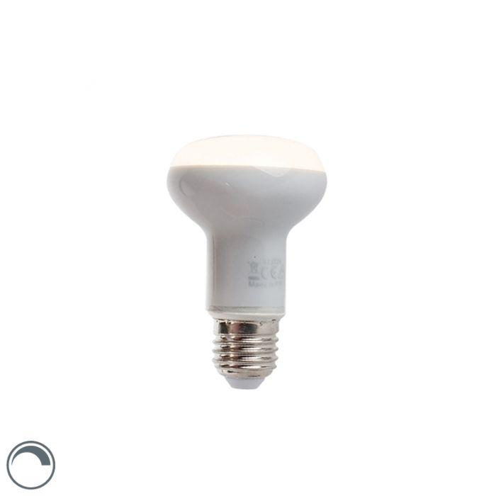 Lâmpada-reflectora-LED-regulável-E27-5W-370-lúmen-branco-quente-2900K-R63