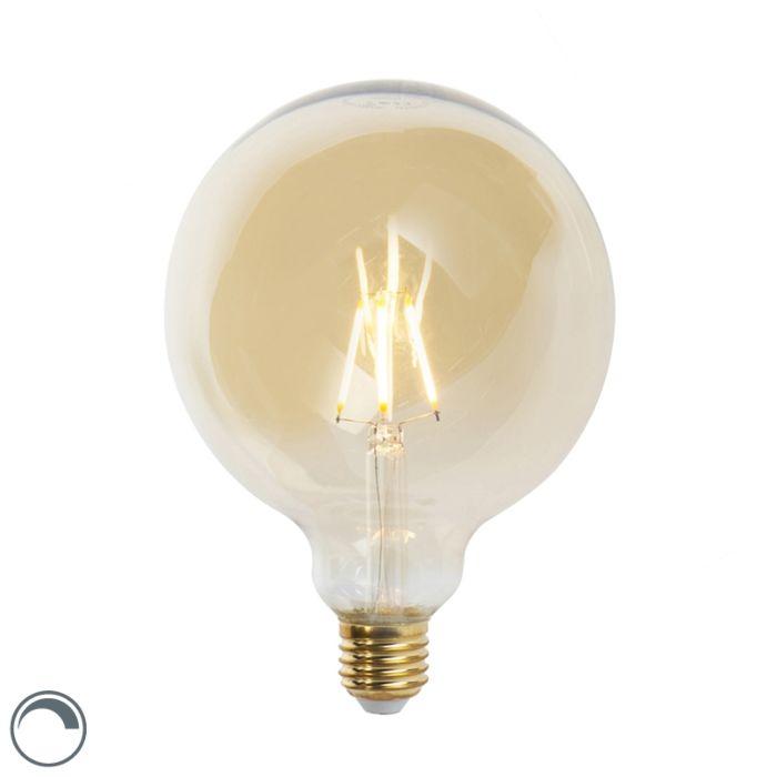 Lâmpada-de-filamento-LED-regulável-E27-G125-goldline-360-lumen-2200K