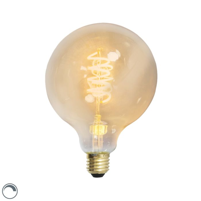 Globo-de-lâmpada-de-filamento-trançado-LED-E27-240V-4W-200lm-regulável