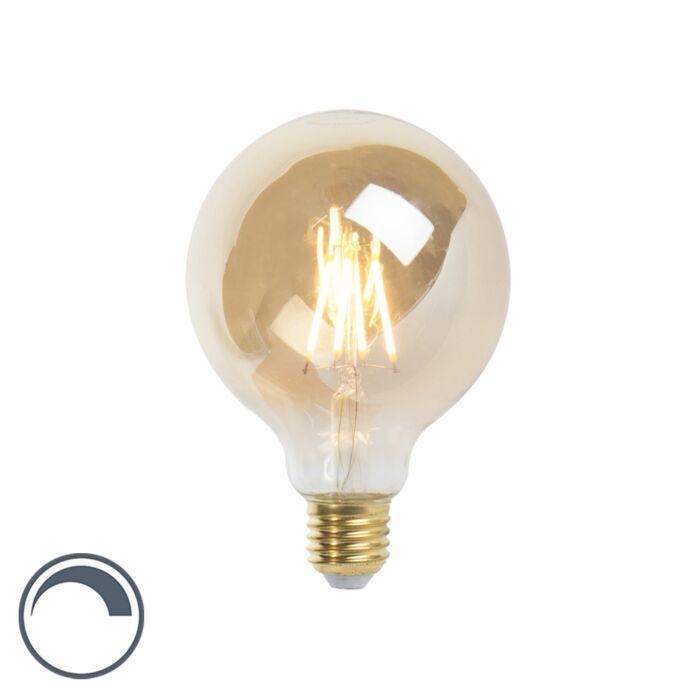 Lâmpada-LED-E27-com-filamento-regulável-G95-goldline-360lm-2200K