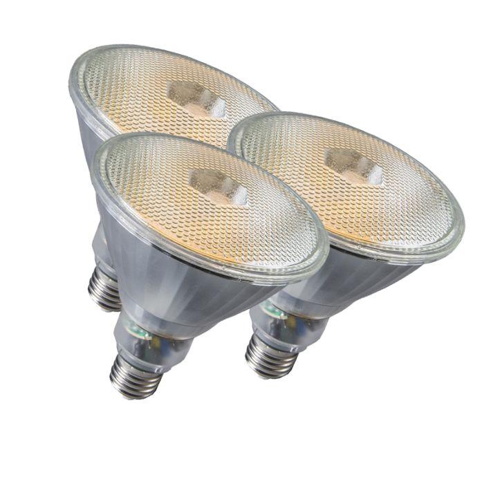 Conjunto-de-3-lâmpadas-Par38-E27-20W-800LM-2700K