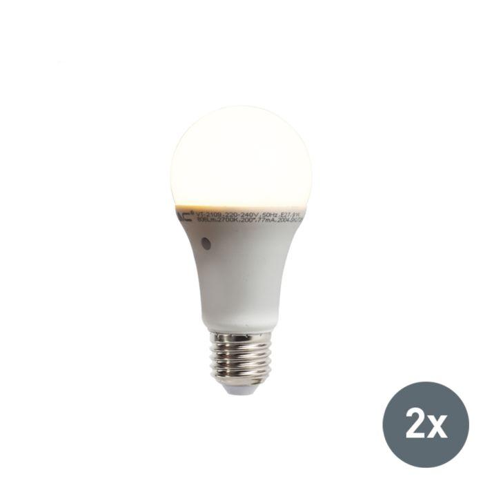 Conjunto-de-2-lâmpadas-LED-com-sensor-claro-escuro-integrado-E27-9W-806-lúmen-branco-quente-2700K