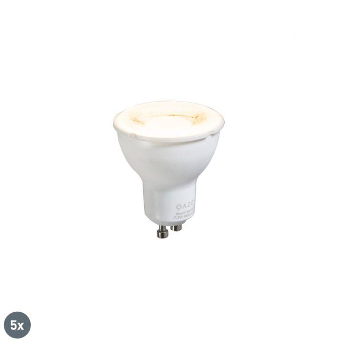 Conjunto-de-5-lâmpadas-GU10-7,5W-3000K