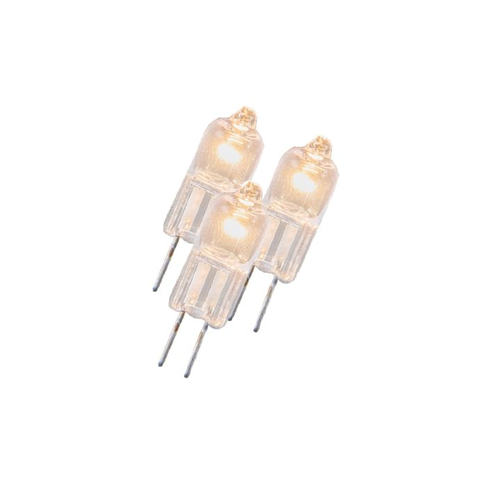 Conjunto-de-3-lâmpadas-halógenas-G4-5W-12V-transparentes