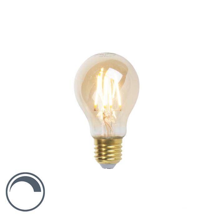 Lâmpada-de-filamento-LED-Goldline-E27-5W-360lm-A60-regulável