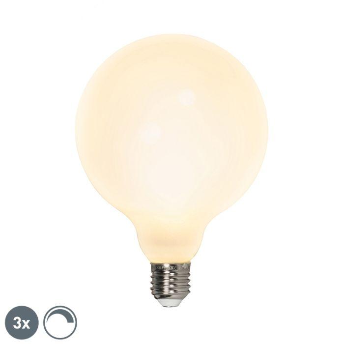 Conjunto-de-3-lâmpadas-globo-de-LED-E27-240V-8W-900lm-regulável