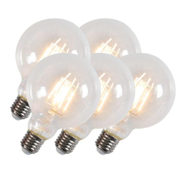 Conjunto-de-5-lâmpadas-de-filamento-Led-G95-E27-6W-600-lumens