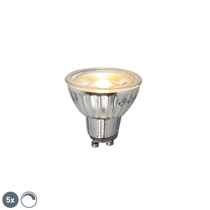 Conjunto-de-5-lâmpadas-LED-dimerizáveis-GU10-7W-500LM-2700K