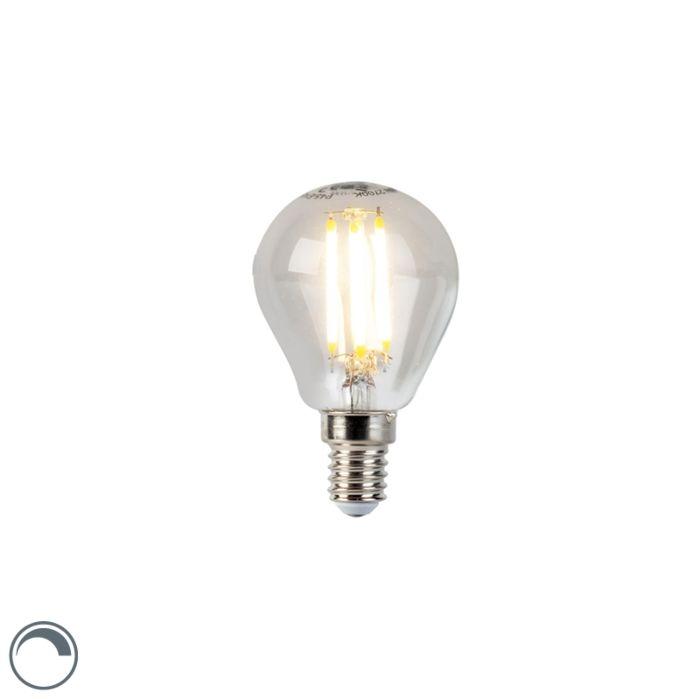 Lâmpada-esférica-de-filamento-LED-E14-5W-470lm-P45-regulável