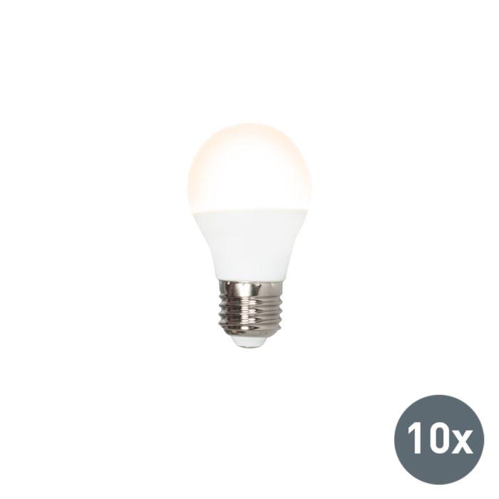 Conjunto-de-10-lâmpadas-LED-P45-E27-3W-3000K
