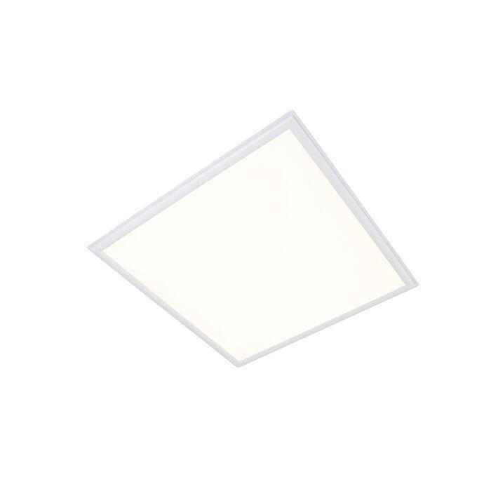 Painel-LED-29W-3600-lúmen-branco-quente-3000K-quadrado