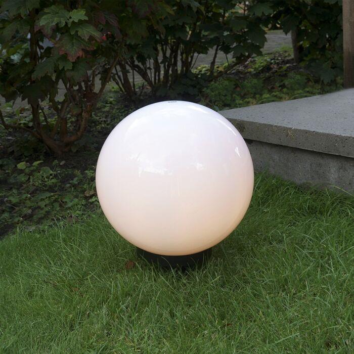 Candeeiro-de-exterior-moderno-com-espigão-de-chão-30-cm-IP44---Esfera