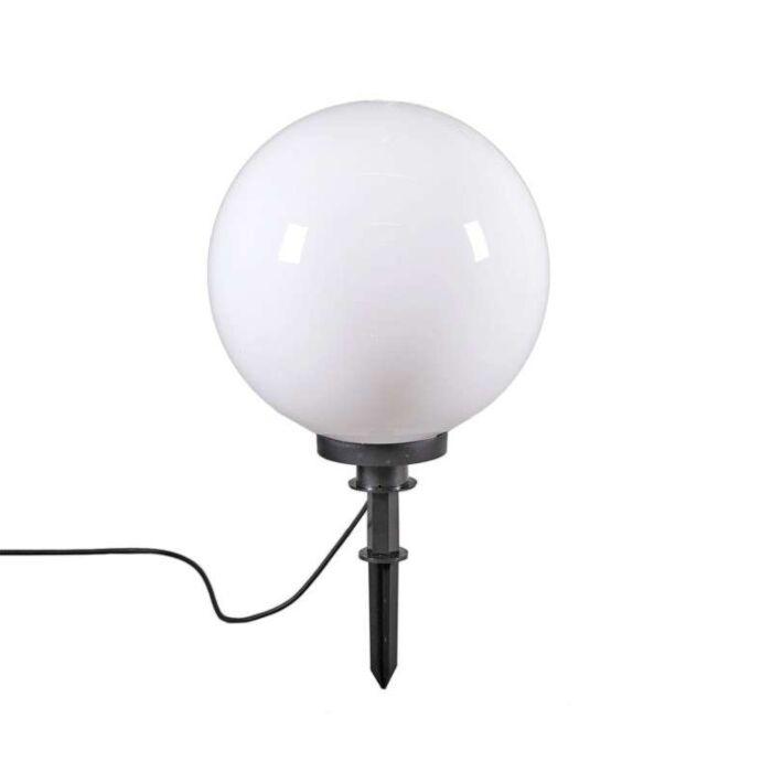 Candeeiro-de-exterior-moderno-com-espigão-de-solo-de-40-cm-IP44---Esfera