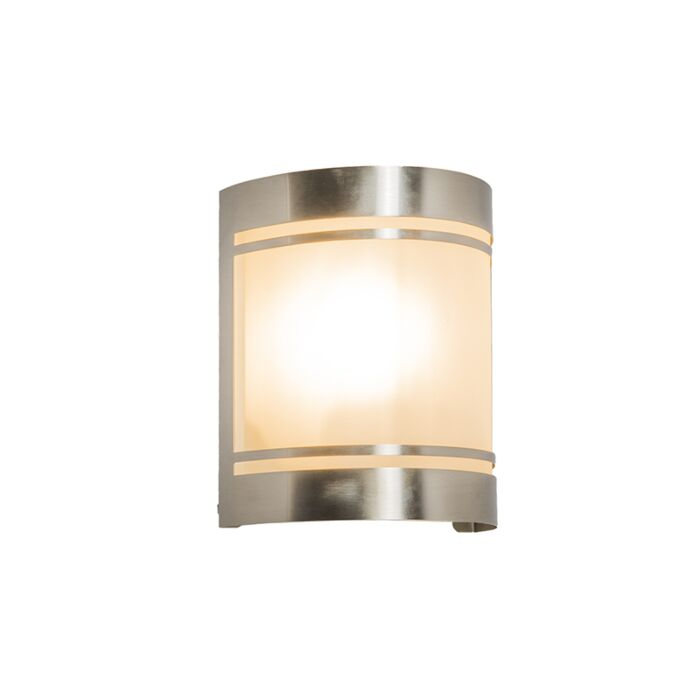 Parede-de-Boston-com-lâmpada-ao-ar-livre