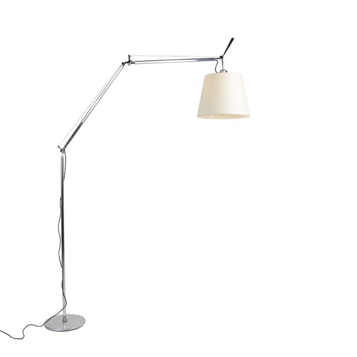 Luminária-de-pé-de-alumínio-de-285-cm---Artemide-Tolomeo-Mega-Terra