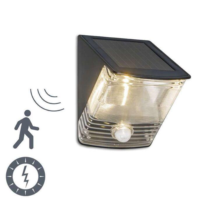 Lâmpada-LED-escuro-para-exterior-com-detector-de-movimento-solar