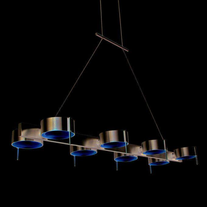 Lâmpada-suspensa-Olho-8-de-alumínio