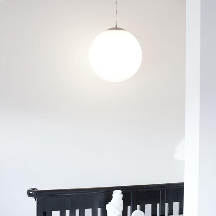 Candeeiro-escandinavo-em-vidro-opalino-50cm---Bola-50