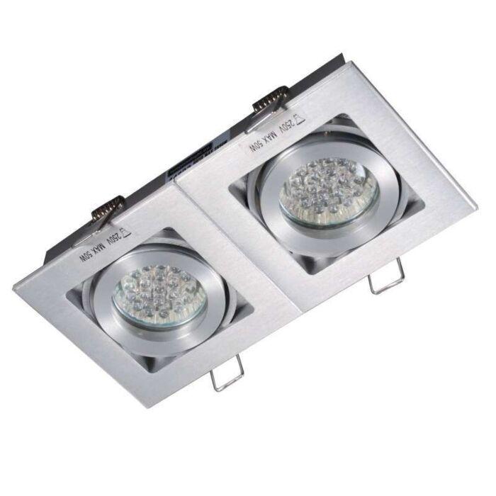Spot-embutido-Quadro-2-de-alumínio
