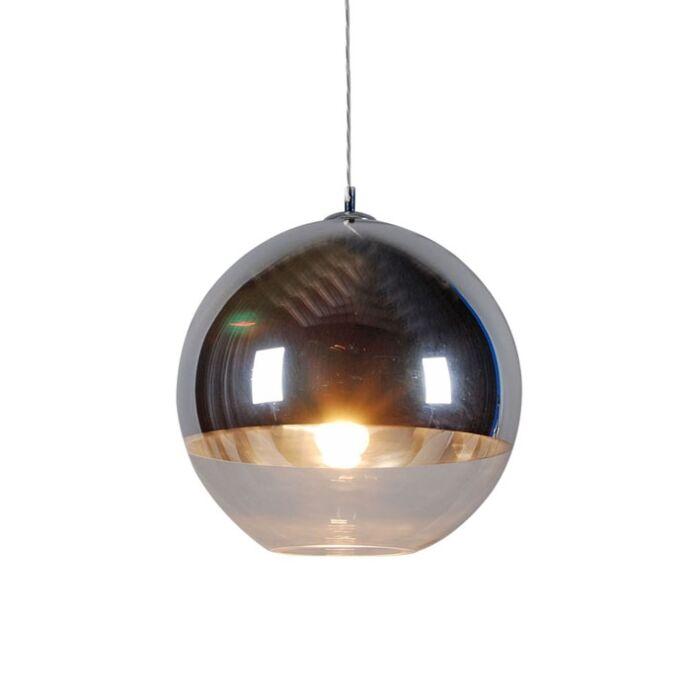 Candeeiro-de-suspensão-Ball-40-prata