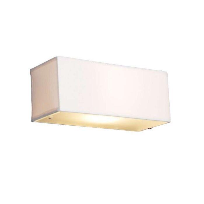 Candeeiro-de-parede-moderno-retangular-branco---Tambor