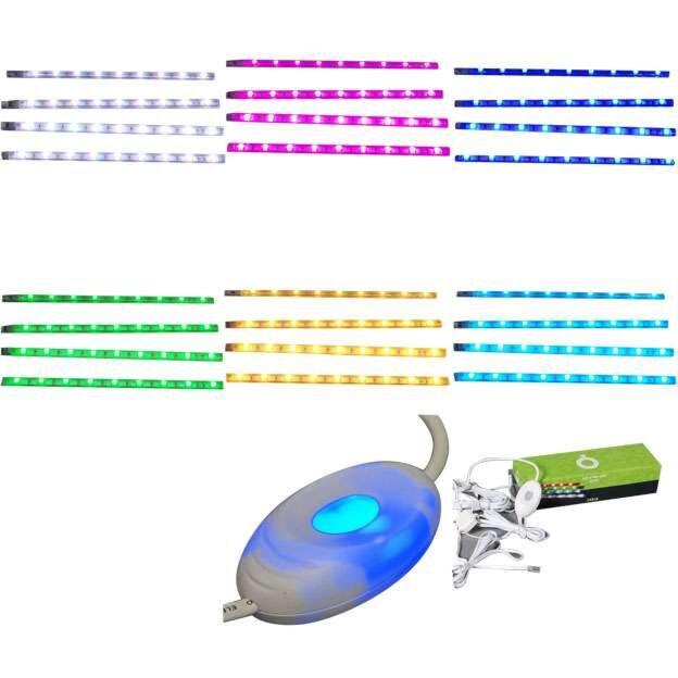 Conjunto-de-quatro-fitas-LED-RGB