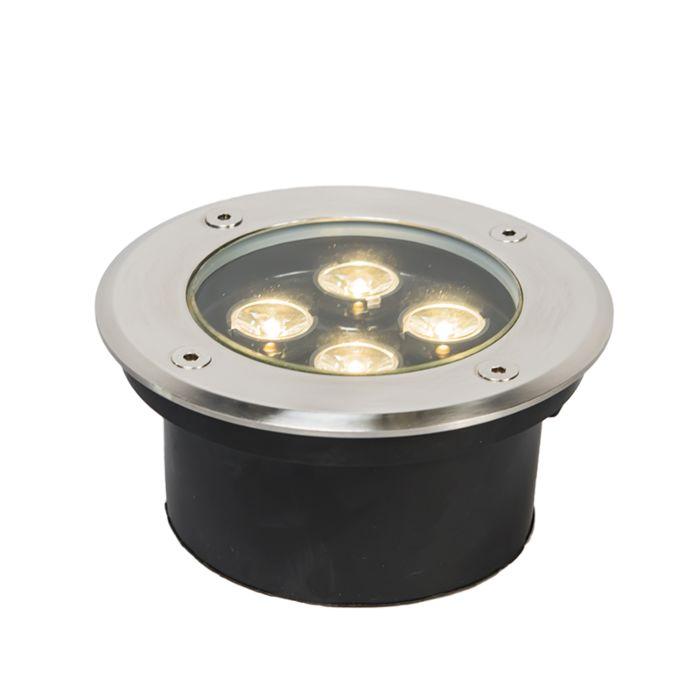 Ponto-de-aterramento-LED-de-energia-4-x-1W