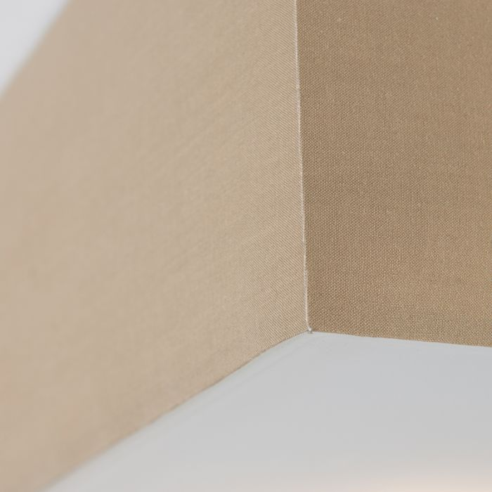 Candeeiro-de-teto-quadrado-moderno-35cm-bege---Tambor