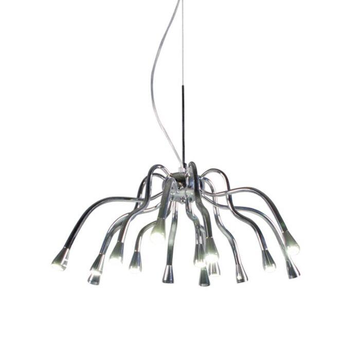 Candeeiro-de-suspensão-angeline-LED-cromado