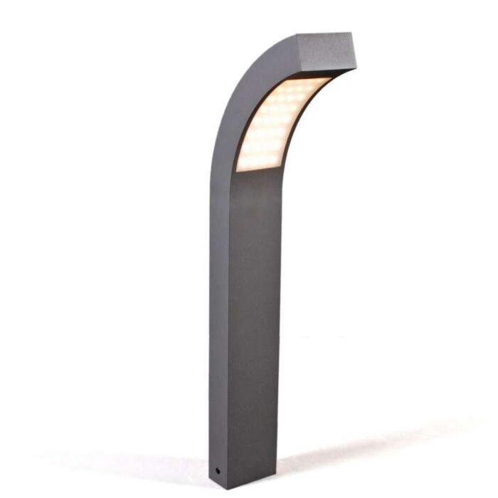 Lâmpada-de-exterior-Suécia-LED-P60-grafite