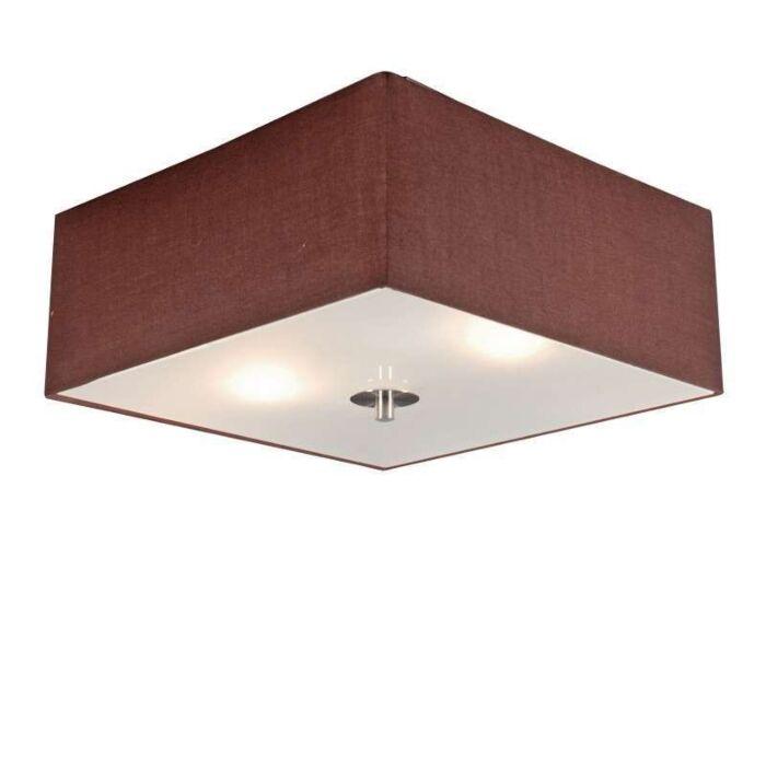 Lâmpada-do-teto-Tambor-35-quadrado-marrom