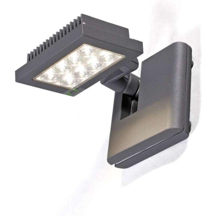 Opton-Flood-Light-grafite-com-LED-branco-quente